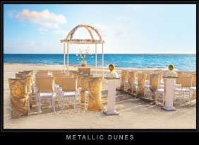 Metallic Dunes Colin Cowie Wedding Collection