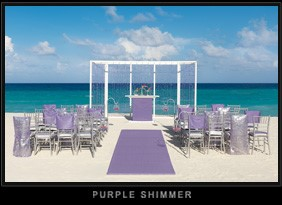 Purple Shimmer Colin Cowie Wedding Collection