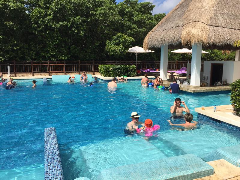 Family Concierge Pool Paradisus La Esmeralda