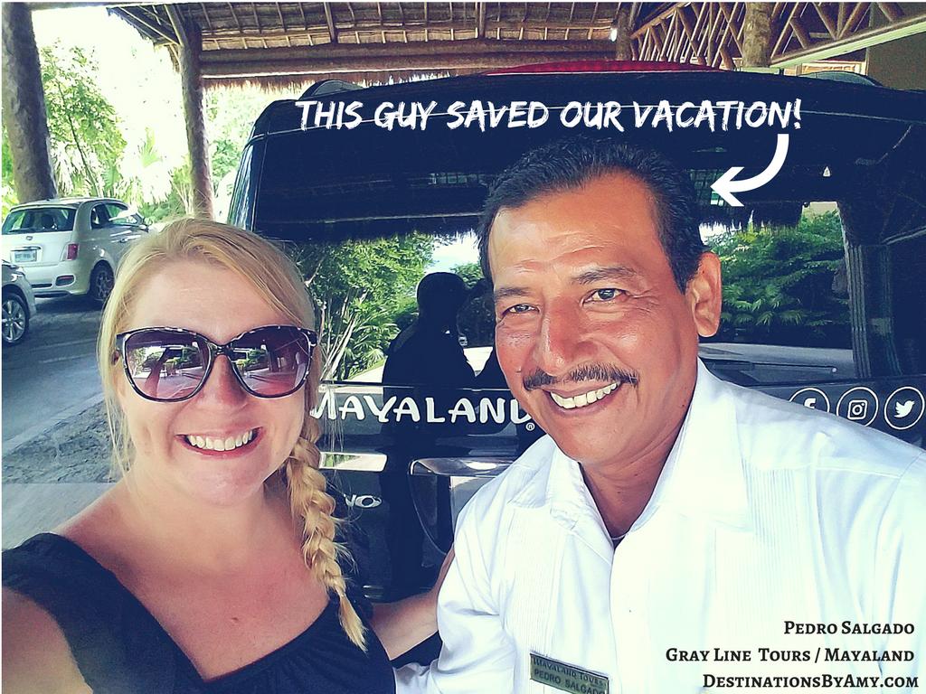 Gray Line Cancun Mayaland Transfers Destination Wedding
